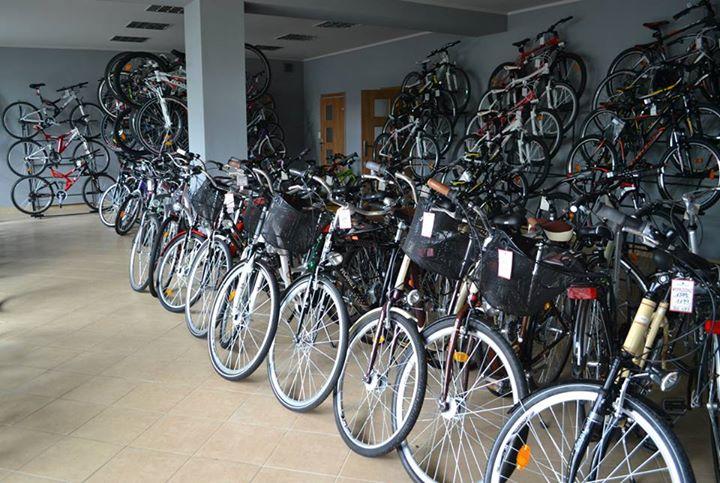 rowery z koszykami